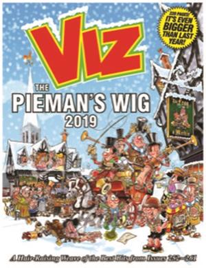 Viz Annual 2019 The Pieman's Wig