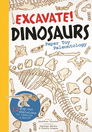 Excavate! Dinosaurs Paper Toy Palaeontology