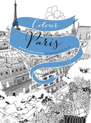 Colour Paris 20 views to colour in by hand