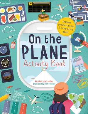 On The Plane Activity Book