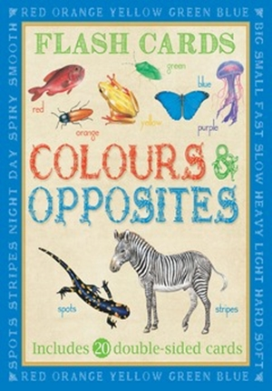 Animal Flash Cards: Colours & Opposites
