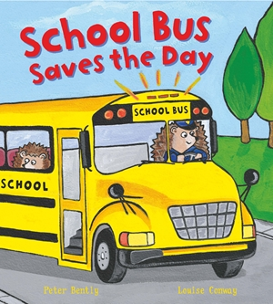 Busy Wheels: School Bus Saves The Day