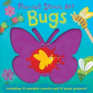Pop-out Stencil Art: Bugs