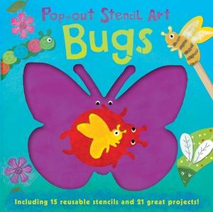 Pop-out Stencil Art: Bugs