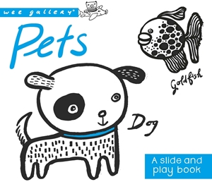 Pets A Slide & Play Book