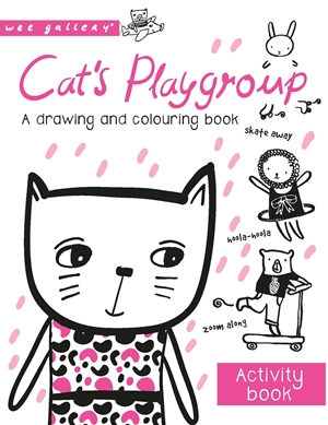 Cat's Playgroup A Drawing and Colouring Book
