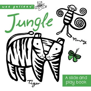 Wee Gallery Board Books: Jungle