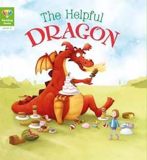 Reading Gems: The Helpful Dragon (Level 4)