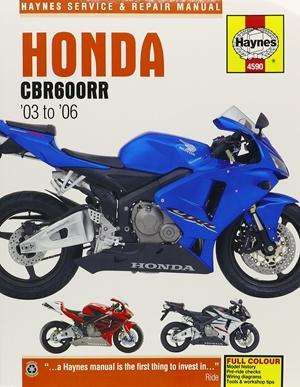 Honda CBR600RR, '03-'06