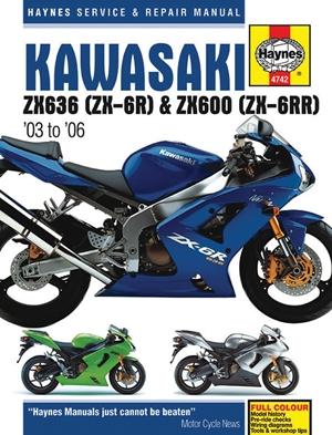 Kawasaki ZX636 (ZX-6R) & ZX600 (ZX-6RR) '03 to '06