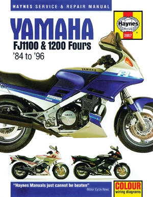 Yamaha FJ1100 & 1200 Fours '84 to '96