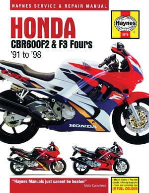 Honda CBR600F2 & F3 Fours '91 to '98