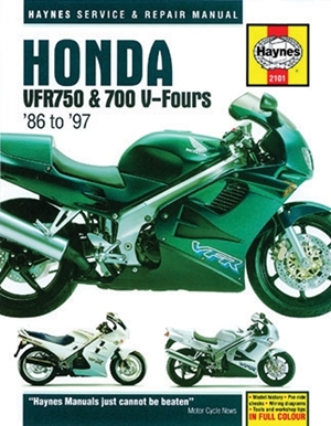 Honda VFR750 & 700 V-Fours 1986 Thru 1997