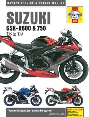 Suzuki GSX-R600 & 750 '06 to '09