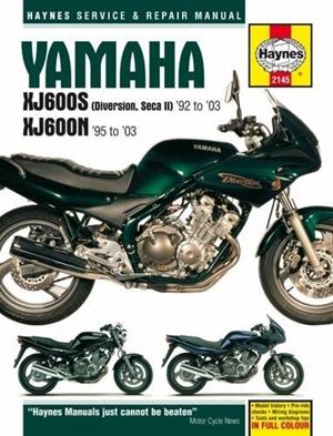 Yamaha Seca II (XJ600S), '92-'03