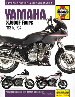 Yamaha XJ900F Fours '83 to '94