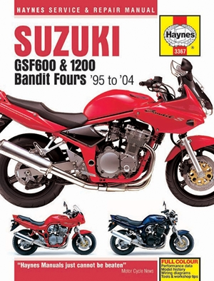 Suzuki GSF600, 650 & 1200 Bandit Fours '95 to '06