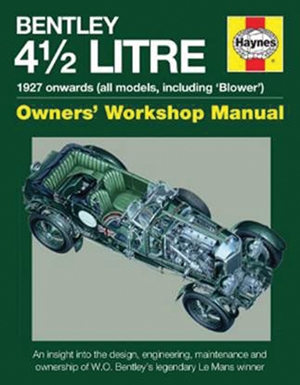 Bentley 4 1/2 Litre Owners' Workshop Manual