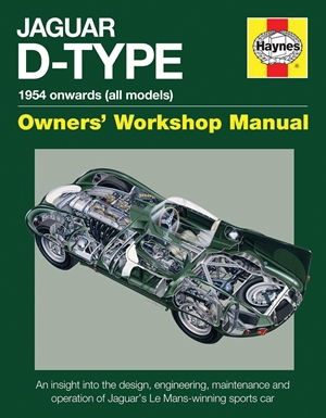 Jaguar D-Type 1954 onwards (all models)