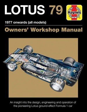 Lotus 79 1977 onwards (all models)