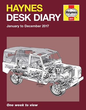 Haynes Desk Diary January to December 2017