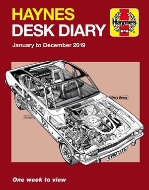 Haynes 2019 Desk Diary