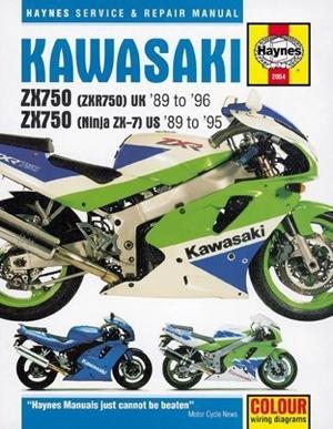 Kawasaki ZX750 (Ninja ZX-7 & ZXR750 Fours, '89-'96