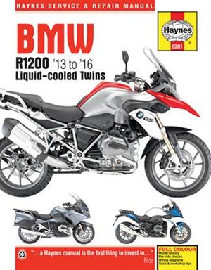 BMW R1200 '13 to '16 Liquid-cooled Twins