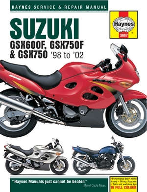 Suzuki GSX600F, GSX750F & GSX750 '98-'02