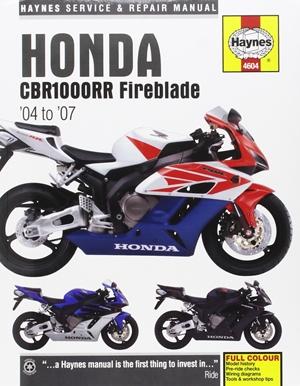 Honda CBR1000RR Fireblade, '04-'07