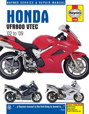 Honda VFR800 VTEC '02 to '09