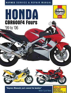 Honda CBR600F4 Fours '99 to '06