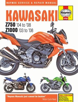 Kawasaki Z750 & Z1000, '03-'08