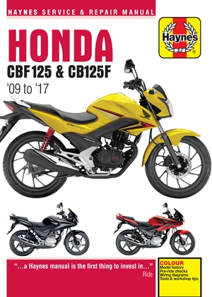 Honda CBF125 and CB125F