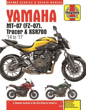 Yamaha MT-07, '14-'17