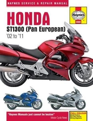 Honda ST1300/ST1300A, '02-'11