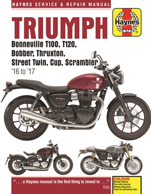 Triumph 900 & 1200, '16-'17