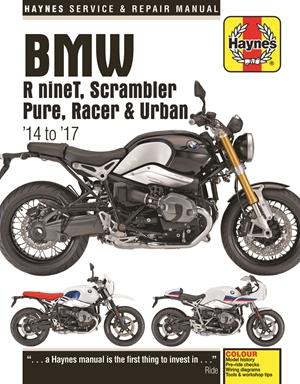 BMW R nineT, Scrambler Pure, Racer & Urban '14-'17