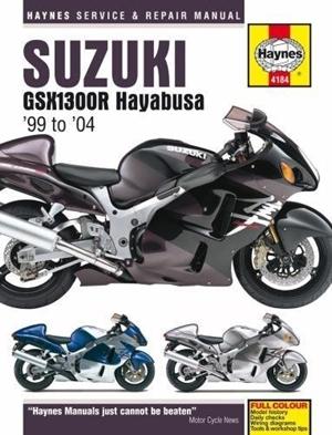 Suzuki GSX1300R Hayabusa, '99-'13