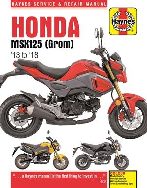 Honda MSX125 (GROM) '13 to '18