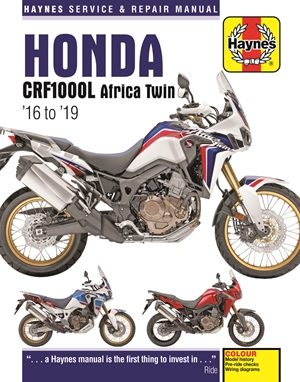 Honda CRF1000L Africa Twin from 2016-2019 Haynes Repair Manual