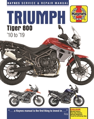 Triumph Tiger 800 '10 to '19
