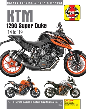 KTM 1290 Super Duke '14 to '19