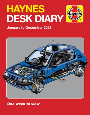 Haynes 2021 Desk Diary