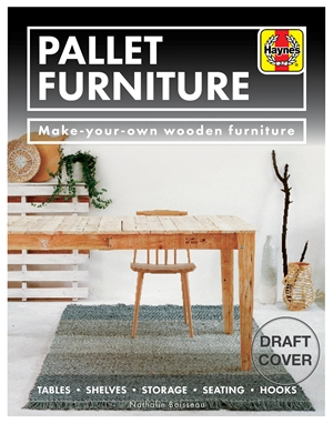 Pallet Furniture Make-your-own wooden furniture * Tables, shelves, storage, seating, hooks