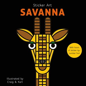 Sticker Art Savanna