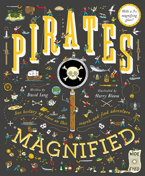 Pirates Magnified With a 3x Magnifying Glass