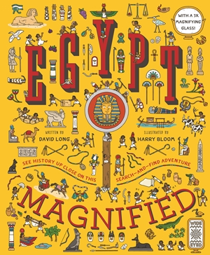 Egypt Magnified With a 3x Magnifying Glass
