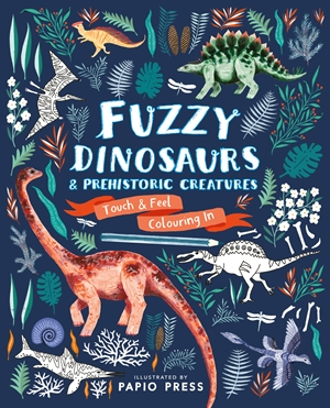 Fuzzy Dinosaurs and Prehistoric Creatures UK