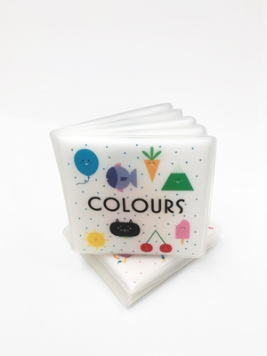 First Concept Bath Book: Colours